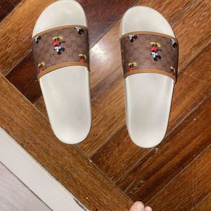 Gucci X Mickey Slides Authentic for Sale in Hollywood, FL