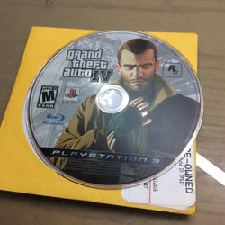 Ps3 Grand Theft Auto 4 for Sale in Hialeah,  FL