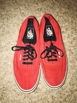 Red Vans for Sale in Corpus Christi, TX