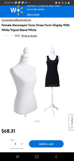 New Female Mannequin Torso for Sale in Norwalk, CA