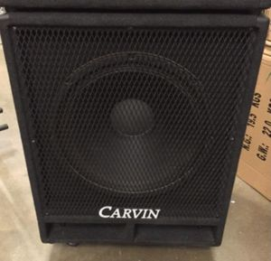 Carvin Bass guitar Cabinet 500watts for Sale in Pasadena, TX