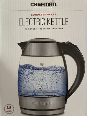 Micro 1.8L Cordless Electric Kettles - Stainless for Sale in Denver, CO