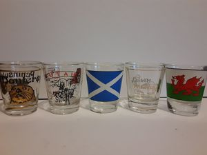 Mix Lot of Shot Glasses for Sale in Downey, CA