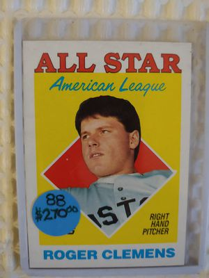 Roger Clemens All-Star Baseball Card for Sale in Seattle, WA