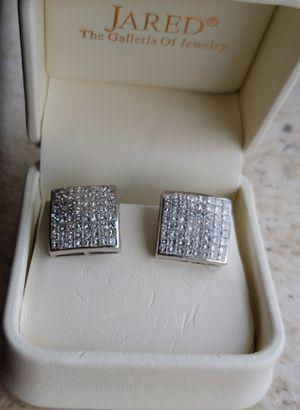 Stunning 14K Princess Cut Diamond Earrings for Sale in Denver, CO