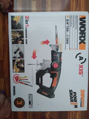 WORX 2 in 1 cordless saw for Sale in Murrieta, CA