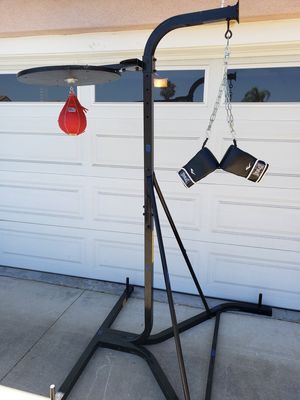 Everlast Punching bag/Speed bag combination stand for Sale in Chino Hills, CA