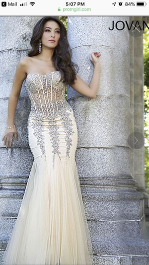 Long Strapless Sweetheart Jovani Prom Dress for Sale in Lackawanna, NY
