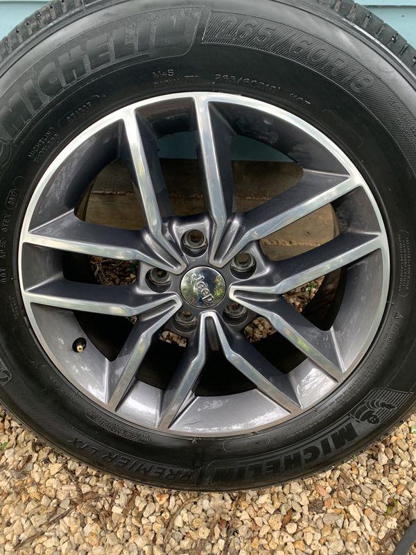 Jeep Grand Cherokee Wheels + Tires