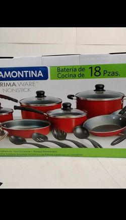 Tramontina Primaware 18 Piece Non-stick Cookware Set retail $51 asking $25 OBO for Sale in Dearborn,  MI