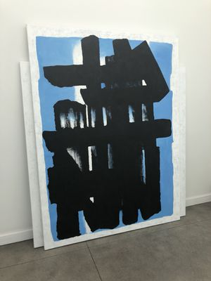 Oversized Abstract Painting On Canvas Modern Art for Sale in West Hollywood, CA
