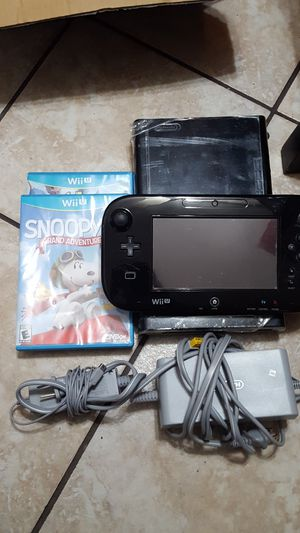 Nintendo Wii U works Great for Sale in Bridgeview, IL