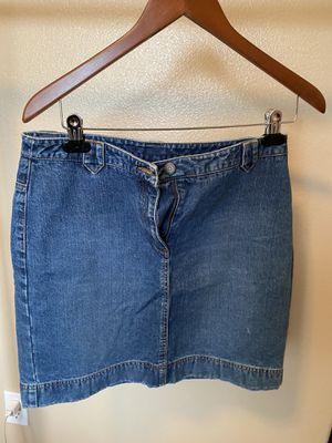 Loft jean mini skirt for Sale in Gresham, OR