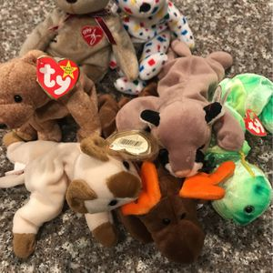 Ty Beanie Babies Retired Lot Of 7 for Sale in Houston, TX