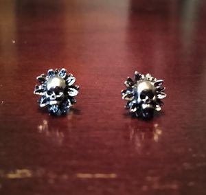 Skull flower earrings for Sale in WILOUGHBY HLS, OH