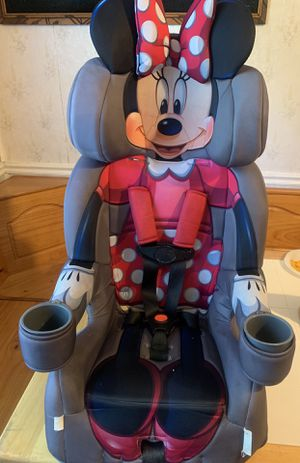 Minnie Mouse booster car seat for Sale in High Point, NC