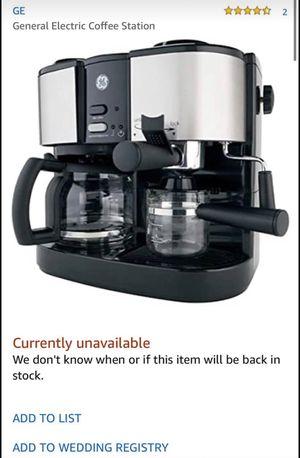 GE Espresso/cappuccino machine for Sale in Jacksonville, NC