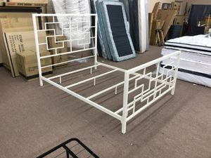 New Metal Queen Bed Frame....$199........new in the box.... for Sale in Glendale, AZ