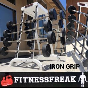 IRON GRIP- FIXED BARBELLS for Sale in El Cajon, CA