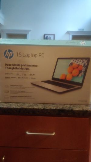 HP 15 Laptop PC for Sale in Concord, NC