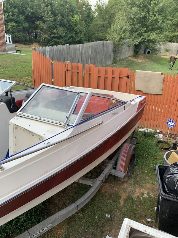 Used boat. Sale as is. Boat does run/ did run the last time I ran it.