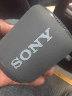 Sony Wireless Extra Bass Bluetooth Speaker for Sale in Raleigh, NC