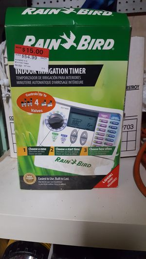 Rainbird 4 station sprinkler timer for Sale in Bakersfield, CA