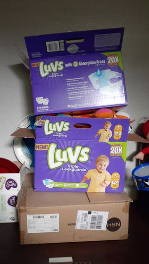 3 boxes full of baby BOY clothes sizes NB-2T for Sale in Houston, TX