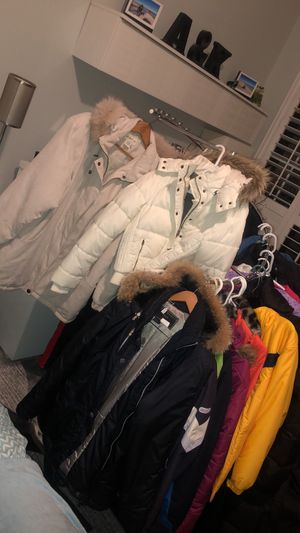Snow jackets coats pants gears boots hats gloves for all family star $15-45 for Sale in Fruit Cove, FL