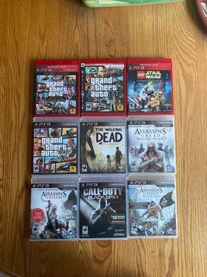 Collection of Nine (9) PS3 Games for Sale in Payson, AZ