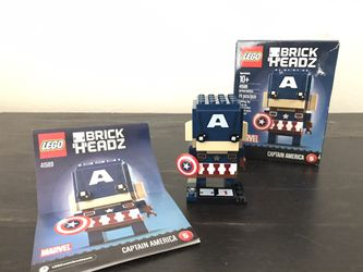 LEGO Brickheads Captain America for Sale in Canby,  OR