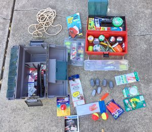 Fishing, weights, hooks, lures for Sale in Gilroy, CA