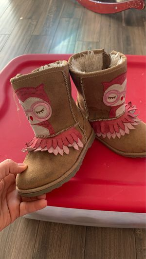 Harper canyon boots toddler girl (size 10) for Sale in Colton, CA
