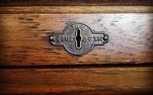 ANTIQUE LEBUS DESK ROLL TOP CIRCA 1901-1920 for Sale in Visalia, CA