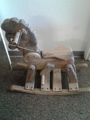 Antique Wooden Horse for Sale in Stockton, CA