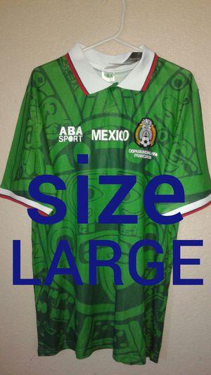 dd820402e02 Mexico retro jersey world cup 1998 for Sale in Los Angeles, CA