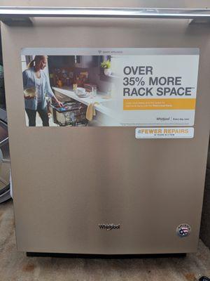 Brand new Whirlpool Smart 47-Decibel Built-in Dishwasher, Fingerprint-Resistant With 1 year warranty for Sale in Nashville, TN