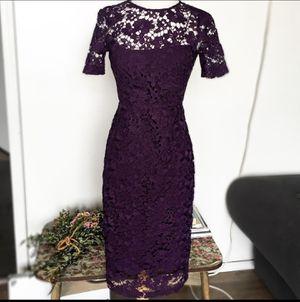 Donna Morgan Purple Lace Dress for Sale in Kenner, LA