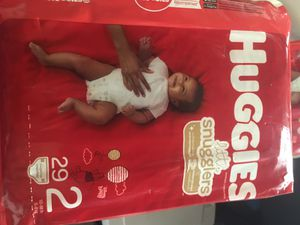 Huggie size 2 4 bags for $24 for Sale in Palmdale, CA