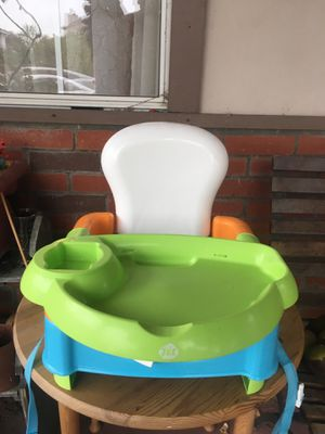 Portable high chair/booster seat for Sale in Monrovia, CA