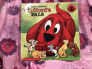 Clifford Pals scholastic book - vintage children book sale! Clifford the big red dog ! Free gift with purchase! for Sale in Phoenix, AZ
