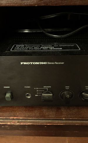 Proton D-940 Vintage Stereo Receiver. for Sale in Hillsboro, OR