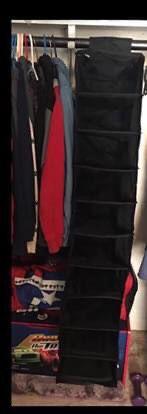 2 Handing 10 Shelf Closet Organizer ❤️pick up in Mebane NC for Sale in Mebane,  NC