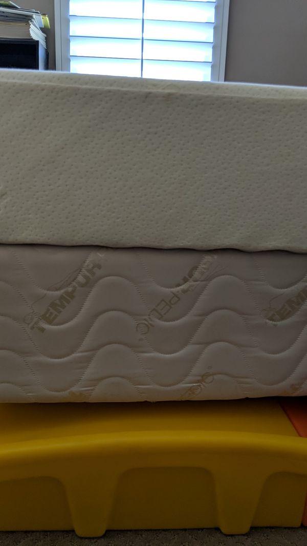 Tempurpedic twin mattress - XL twin mattress for Sale in ...