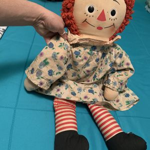 Vintage raggedy Ann Doll 60s Or 70s for Sale in Torrance, CA