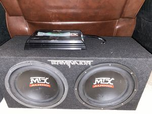 MTX Subwoofers and Amplifier for Sale in Melbourne, FL