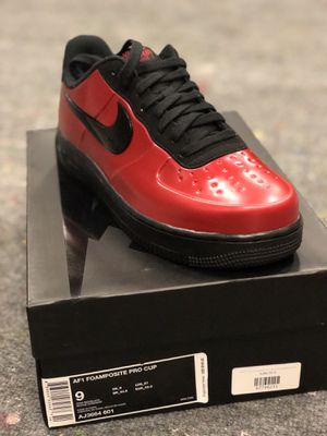 0c4f633a9a9 Air Force 1 Foamposite pro cup for Sale in Richardson