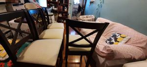 4 new chairs for 50 dollars for Sale in Oakland, CA