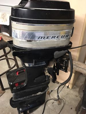 Mercury Outboard Boat Motor *price drop* for Sale in Fort Worth, TX