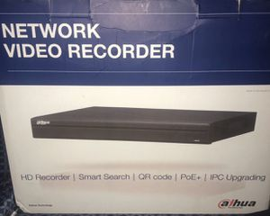 Dahua NVR Network Video Recorder 4 channels only $150 firm Brand New Sealed. Specs in photos Leave your number or I might not reply If the ad is s for Sale in Davie, FL